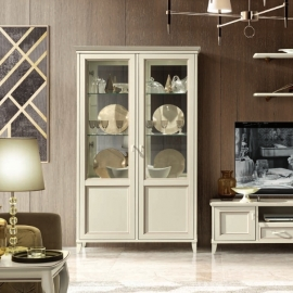 Витрина 2-дверная Camelgroup Giotto Bianco 161VT2.01BA