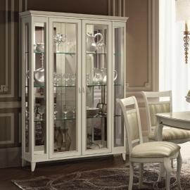 Витрина 2-дверная Camelgroup Giotto Bianco стеклянные двери 161VT2.02BA