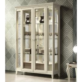 Витрина 2-дверная Camelgroup Giotto Bianco стеклянные двери с ящиком 161VT2.04BA