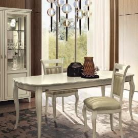 Стол обеденный 200/290x105, Camelgroup Giotto Bianco 161TAV.01BA, раскладной