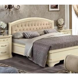 Кровать Torriani Avorio Camelgroup, 180х200 без изножья с обивкой 128LET.12AV