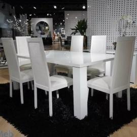 Стол обеденный 160 см Status Elegance White прямоугольный