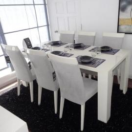Стол обеденный 190 см Status Elegance White прямоугольный
