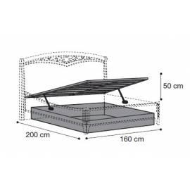 Подъёмный механизм для кровати 160 см Nostalgia Bianco Antico Camelgroup