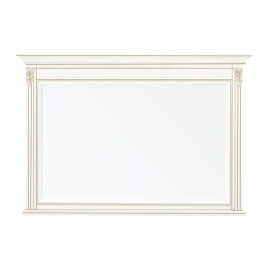Зеркало большое Classico Italiano Палермо белый/ваниль Т-705