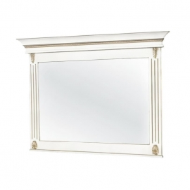 Зеркало Classico Italiano Палермо белый/ваниль Т-705