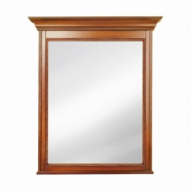 Зеркало Classico Italiano Палермо янтарь/орех Т-705Y/N