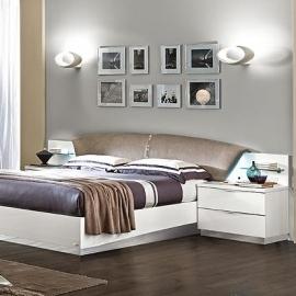 Кровать 160х200 Onda White Camelgroup с контейнером