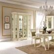 Витрина 4-дверная Palazzo Ducale Laccato Prama задняя стенка зеркало 71BO00 - Фото 3