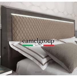 Покрытие Серебристая берёза с глянцем Кровать Rombi Platinum Camelgroup 180x200 см