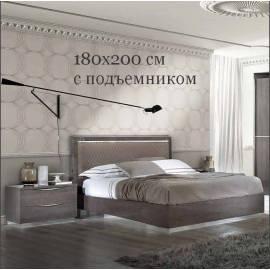 Кровать Rombi Platinum Camelgroup 180x200 см с контейнером