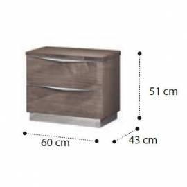 Прикроватная тумба mini Platinum Camelgroup