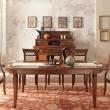 Стол обеденный 210/300 Palazzo Ducale Ciliegio Prama, овальный раздвижной 71CI58 - Фото 1