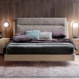 Кровать ORN Camelgroup Maia Sabbia 160х200, ткань Sake 129 col.01