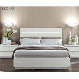 Кровать Legno Onda White Camelgroup 160, с контейнером