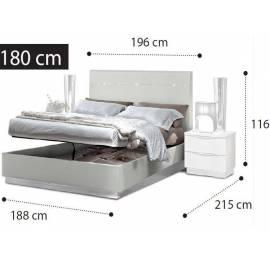 Кровать Legno Onda Camelgroup 180, с контейнером