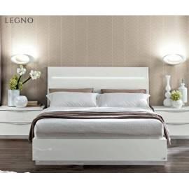 Кровать Legno Onda White Camelgroup 180, с контейнером