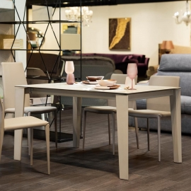 Обеденный стол Ingenia Casa Winny 120/170х80, раскладной [M312/CR001/L084]