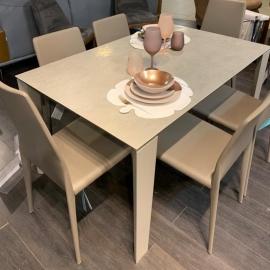 Обеденный стол Ingenia Casa Winny 190/290х100, раскладной [M312/CR001/L084]