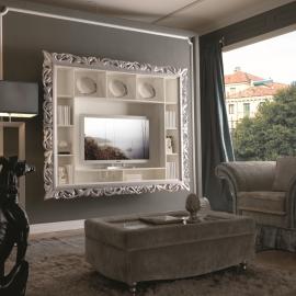 Обрамление для ТВ Giorgio Casa Memorie Veneziane, большое с полками арт. 485