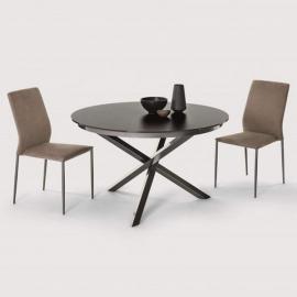 Обеденный стол Ingenia Casa Trio D125/175, круглый раскладной [M310/C196/L087]