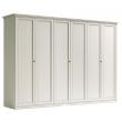 Шкаф 6-дверный Camelgroup Nostalgia Bianco Antico, высокий - Фото 6