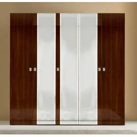 Шкаф 4 дверный Onda Walnut Camelgroup с зеркалами