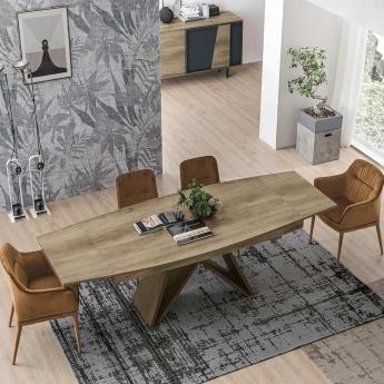 Стол обеденный Target Point Sigma 180х90 см, прямоугольный, раскладной, TA517