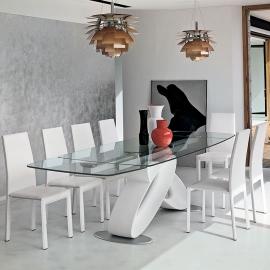 Стол обеденный Target Point Eclipse Allungabile Botticella 200х100 см, раскладной, TA400