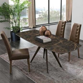 Стол обеденный Target Point Vortice 130(200)х90 см, раскладной, TA1B6