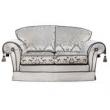Диван-кровать 2-местный Camelgroup Nostalgia, ткань Rigoletto - Фото 1