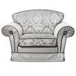 Кресло Camelgroup Nostalgia, ткань Rigoletto - Фото 1