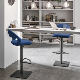 Барный стул Target Point Denver с мягкой микрофиброй 49x80 см, SG117
