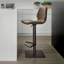 Барный стул Target Point Santiago, экокожа Vintage, SG189