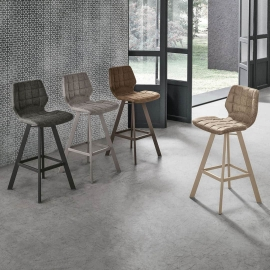 Барный стул Target Point Santiago Plus, экокожа Vintage, SG196