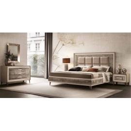 Кровать 180х200 Arredo Classic Adora Ambra, мягкое изголовье, арт. 41