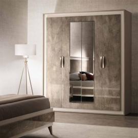 Шкаф 4-дверный Arredo Classic Adora Ambra