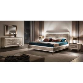 Кровать 200х200 Arredo Classic Adora Ambra, King Size, арт. 40