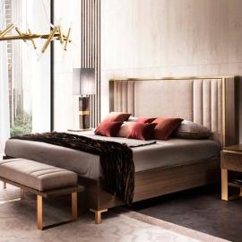 Кровать 160х200 Arredo Classic Adora Essenza, мягкое изголовье, арт. 31
