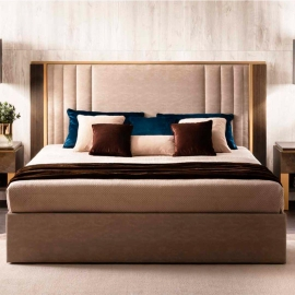 Кровать 200х200 Arredo Classic Adora Essenza, мягкое изголовье, арт. 31