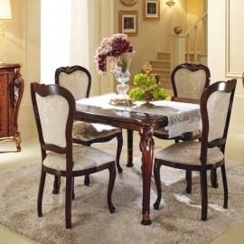 Стол обеденный квадратный 118/158х118 Arredo Classic Donatello, раскладной