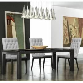 Стол обеденный 140/320 La Star Black Camelgroup, прямоугольный раздвижной