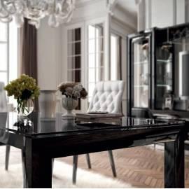 Стол обеденный 140 La Star Black Camelgroup, прямоугольный
