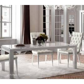 Стол обеденный 180/300 Dama Bianca Camelgroup, прямоугольный раздвижной 141TAV.04BI