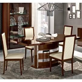 Обеденный стол 200/245 Roma Noce Camelgroup, овальный раздвижной