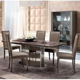Обеденный стол 200/245 Platinum Camelgroup, большой овальный раздвижной