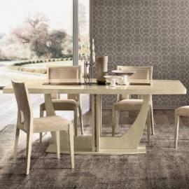 Обеденный стол 200/245 Ambra Day Camelgroup,  большой овальный раздвижной
