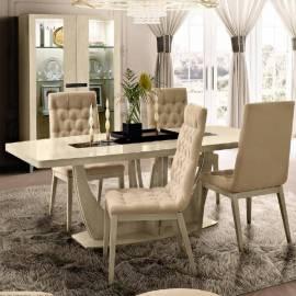 Обеденный стол 160/205 Ambra Day Camelgroup, средний овальный раздвижной