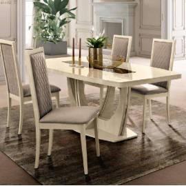 Обеденный стол 140/185 Ambra Day Camelgroup, малый овальный раздвижной
