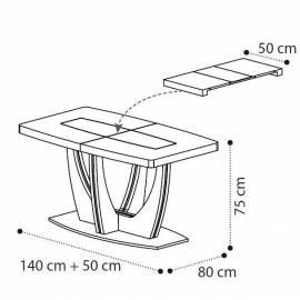 Обеденный стол 140 см Ambra Day Camelgroup